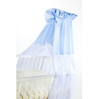 Baldachin universal pentru patut - blue
