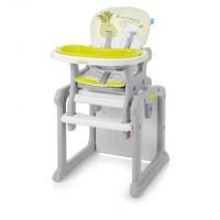 Baby Design Candy 04 green 2017 - scaun de masa multifunctional 2 in 1