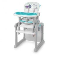 Baby Design Candy 05 turquoise 2017 - scaun de masa multifunctional 2 in 1