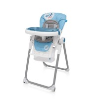 Baby Design Lolly 03 Blue 2017 - Scaun de masa