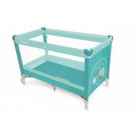 Baby Design Simple 05 Turquoise 2018 - Patut pliabil