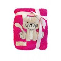 paturica plus 76x102 cm - Pisicuta roz