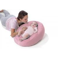 husa aditionala bebelus pentru perna - pink - 7104