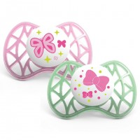 AIR 55suzeta 6 luni+ - pink/green - 7081