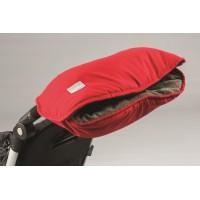 Red/Dark Grey - Manusi pentru carucior 9307