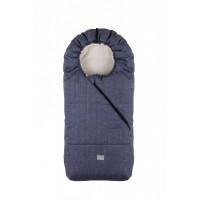Pop sac de iarna 100 cm - Melange Blue Jeans/Beige - 9635