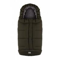 City sac de iarna 100 cm - Dark Green / Grey - 9545