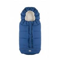 City sac de iarna 100 cm - Royal Blue / Beige - 9545