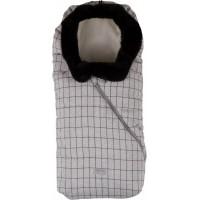 sac de iarna 80 cm - Checkered Milk Biscuit / Beige - 9235