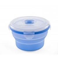 Recipient pliabil din silicon pentru hrana 540 ml 4468 - Albastru
