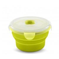 Recipient pliabil din silicon pentru hrana 540 ml 4468 - Verde