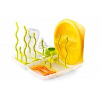 Suport pliabil uscare biberoane si accesorii - 1481 green
