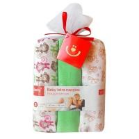 Scutece textile pentru bebelusi 3 buc. - Verde