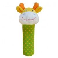 jucarie plus cu zornaitoare - ZW-5 Girafa verde