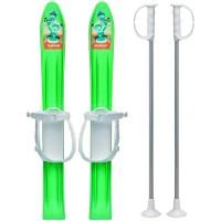 Skiuri copii 60 cm - Verde