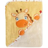 Prosop cu capison 76x76 cm - Girafa Crem
