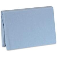 Husa pentru saltea Jersey 60x120cm - Albastru