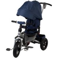 Tricicleta multifunctionala Little Tiger T400 - Albastru