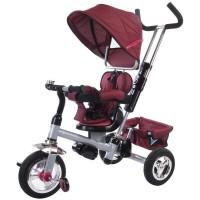 Tricicleta Confort Plus - Melange Rosu