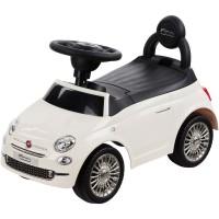 Masinuta fara pedale Fiat 500 - Alb