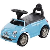 Masinuta fara pedale Fiat 500 - Albastru