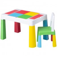 Set masuta cu scaun Multifun, Multicolor